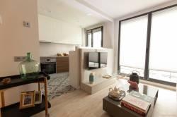 interiorismo apartamento diagonal mar