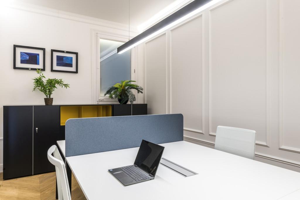 Diseño de interiores de despacho