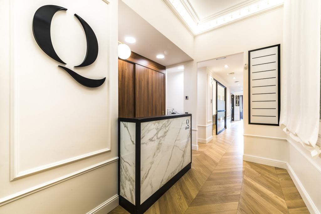 Mostrador oficina de marmol