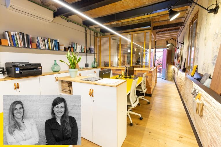 Estudio de arquitectura e interiorismo en Barcelona, en el barrio de Gracia.